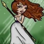 """Goddess"" by Izzib3th"