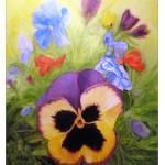 """""""Flowers in Polperro"""" by rodholmstudio-digitallimn"""