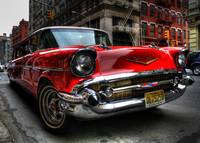 '57 Chevy Stretch Limo in SoHo
