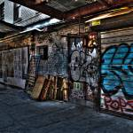 """Meatpacking District Graffiti"" by JoelHorwath"
