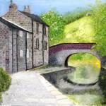 """""""Brearley Lane Bridge"""" by rodholmstudio-digitallimn"""
