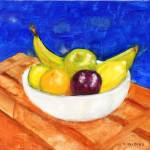 """""""Bowl of Fruit"""" by rodholmstudio-digitallimn"""