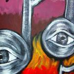 """eye notes#1"" by austinartwar"