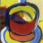 """""""Diner Coffee Cup #3"""" by JENLO"""