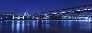 Millenium Bridge Blue