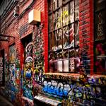 """Graffiti Alley - Ann Arbor, Michigan"" by JamesHowePhotography"