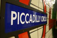 Piccadilly Circus Station (Colour)