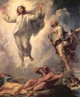 Transfiguration of Christ detail