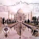 """Taj Mahal"" by CaraPhillips"