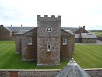 scotland 'The chapel at Fort George'