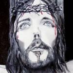 """Christ"" by customartbyamber"