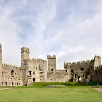 Caernarfon Castle Art Prints & Posters by András Kalmár Nagy