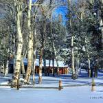 """Cabin on Casper Mountain"" by SamSherman"