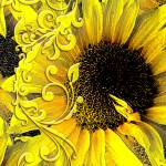 """Sunflowers"" by redaddiction"