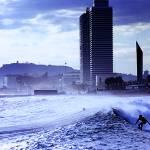 """Surfing Barcelona"" by ninomilone"
