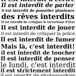 """il est interdit"" by tedder"