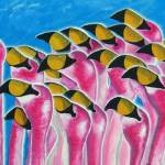 """""""Flamingos"""" by laughingface2"""
