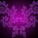 """""""Purple Fractal"""" by Unique3DArt"""