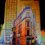 """Christmas Night-Reid Bldg.-Detroit 1895"" by tEdGuY49"