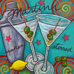 """Retro Martini"" by LisaLorenz"