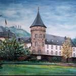 """""""Burg Linz, Rhine - MagdalenaArt"""" by MagdalenaArt"""