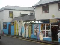 Surf Shop, Newquay, Cornwall, England