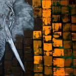 """""""Elephant"""" by ArtPrints"""