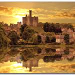 """Warkworth Castle"" by deljenphotography"