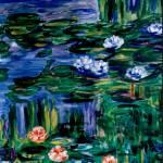 """""""Waterlilies - MagdalenaArt"""" by MagdalenaArt"""