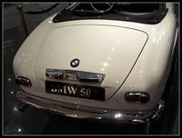 BMW 507 - rear view
