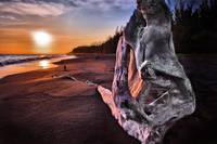Sunset on Driftwood Beach