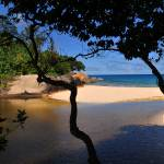 """Seychelles low tide"" by Mie"