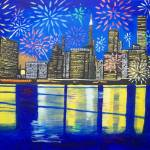 """CELEBRATE New York, your spirit will never die"" by Eamonreillydotcom"