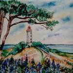 """Lighthouse Baltic Sea - MagdalenaArt"" by MagdalenaArt"