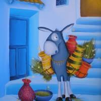 Anyone at home?.. Art Prints & Posters by Gabriela Elgaafary