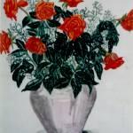 """""""Roses in vase - MagdalenaArt"""" by MagdalenaArt"""