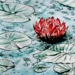 """""""Waterlilie - MagdalenaArt"""" by MagdalenaArt"""