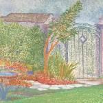 """""""Behind the Garden Gate"""" by KayArtiste"""