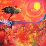 """Acacia Sunset"" by AnneLawrence"