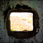 """Looking through a Gun Emplacement on Cramond Islan"" by dave_finlayson"