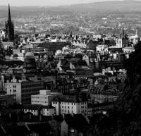 Edinburgh in Black & White