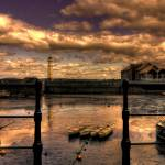 """The tide out at Newhaven Harbour"" by dave_finlayson"