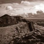 """Salisbury Crags and Arthurs Seat Edinburgh"" by dave_finlayson"