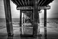 Under the Steeplechase Pier, Coney Island NY 2009
