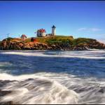 """Cape Neddick ""Nubble"" Light"" by PearBiter"