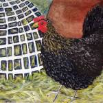 """mother hen ""miss money penny"""" by AnitaBell"