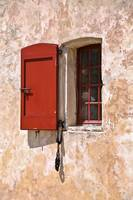 Windows and Doors 3 in Red and Yellow, France