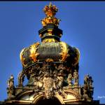 """Crown of Gateway, Zwinger Palace"" by frenchy"