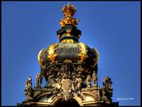 Crown of Gateway, Zwinger Palace
