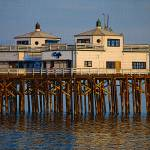 """Malibu Pier near sunset"" by catmca"